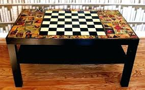 chess board coffee table table chess board coffee table