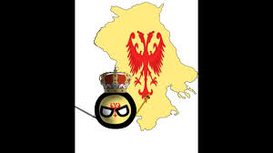 Flag Of Serbia Making Speed Art Flag Map Of Serbian Empire 1355 Youtube