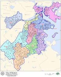 boston city map boston city council votes on redistricting plan radio boston