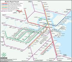 Map Of Boston Ma A U0027twist U0027 On The Mbta U0027s Map Design U2013 Boston Magazine