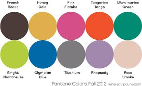 wire jewelry tip july 11 pantone s fall 2012 color forecast