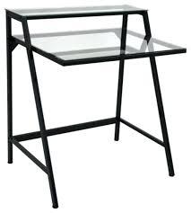 Glass Top L Shaped Computer Desk Desk Glass Top L Shaped Office Desk Techni Mobili Dachia L