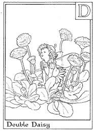 59 flower fairy alphabet images fairy coloring
