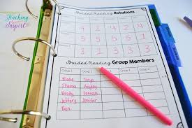 Guided Reading How To Organize Guided Reading Binder For Elementary Free Forms Teaching