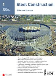 steel construction 01 2013 free sample copy by ernst u0026 sohn issuu