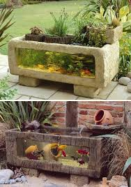 Small Garden Ponds Ideas 22 Small Garden Or Backyard Aquarium Ideas Will Your Mind
