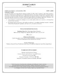 First Grade Teacher Resume Examples File Info Teacher Resume Examples Pdf Sample Teachers Intended For
