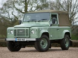2000 land rover green land rover final defender 90 heritage signs off 68 year