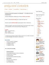 sample essay speech spm essay english spm english corner spm english essay format english corner spm english essay format continuous writing pdf english corner spm english essay format continuous