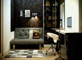home office masculine scandinavian desc bankers chair black wall