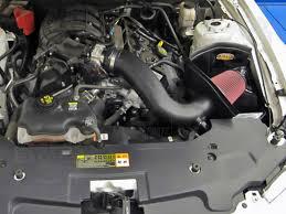 2014 ford mustang v6 engine 2011 2014 mustang 3 7l v6 airaid synthaflow mxp cold air intake