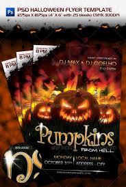 23 Wicked Halloween Psd Flyer Templates Web U0026 Graphic Design