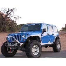 jeep wrangler 4 door blue superlift k997f wrangler jk lift kit 4