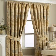 Floral Jacquard Curtains Paoletti Berkshire Floral Chenille Jacquard Woven Lined Pencil