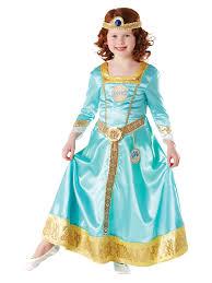 merida brave costume girls disney princess kids fancy dress