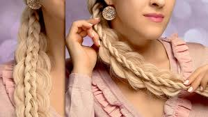 cute and easy back to hairstyles for long hair stacked