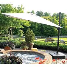 Offset Patio Umbrella Cover Garden Treasures Offset Umbrellas Big Patio Umbrella Garden