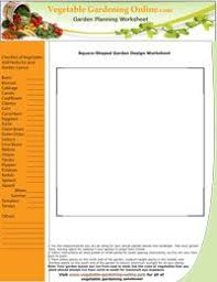 www vegetable gardening online com awesome site free worksheets