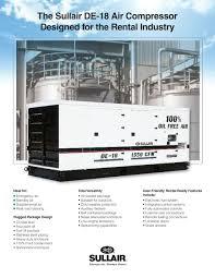 de18 sullair pdf catalogue technical documentation brochure