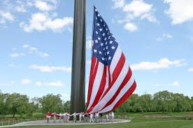 Automatic Flag Pole Wisconsin Company Dedicates 400 Foot Tall Flagpole Washington Times