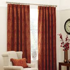Orange Panel Curtains Best 25 Orange Pencil Pleat Curtains Ideas On Pinterest Large