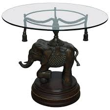 jaipur elephant festival coffee table 30 best collection of elephant glass top coffee tables