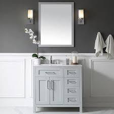 Gray Bathroom Cabinets Best 25 36 Bathroom Vanity Ideas On Pinterest Bathroom Vanity