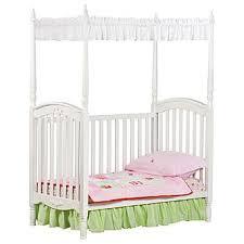 delta children lil princess canopy crib white