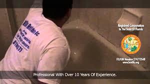 Bathtub Refinishing Florida Bathtub Refinishing By Cassio Silveira Youtube