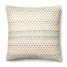 Designer Pillows Magnolia Home Delaney Blue Pillow P1000 Designer Pillows