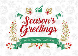 christmas card marketing snowflake christmas cards for your business