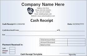 terrific template sample for receipt of money vatansun