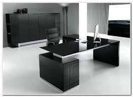 modern glass work desk modern work desk desks home decorating ideas small office in for 13