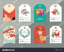 christmas gift tags template set vector stock vector 512245993