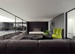 style house canapé architecture intérieure moderne style minimaliste 50 idées tv