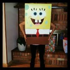 Spongebob Squarepants Halloween Costume Coolest Diy Spongebob Squarepants Halloween Costume Spongebob