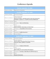 10 best images of conference agenda template word meeting agenda