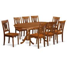 details about 9 pc square dinette dining room table set and 8