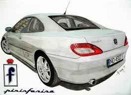 peugeot 406 coupe peugeot 406 coupe drawing by hary1908 on deviantart