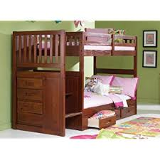 Staircase Bunk Beds Mission Staircase Bunk Bed With 3