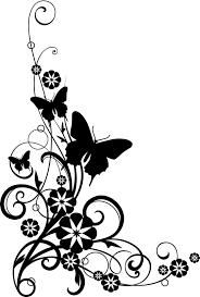 best free butterfly clip art corner file