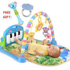 baby mat bambini tappeto multifunzionale pianoforte musica