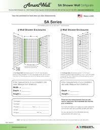 Bathroom Fixture Dimensions by Ada Compliant Shower Systems American Bath Enterprises American Bath