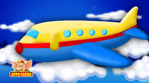 classic rhymes from appu series aeroplane up in the sky youtube