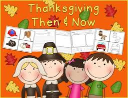 thanksgiving then now activities by white desk design tpt