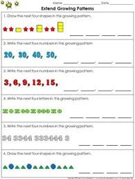 pattern and numbers 23 best patterns and algebra images on pinterest number patterns