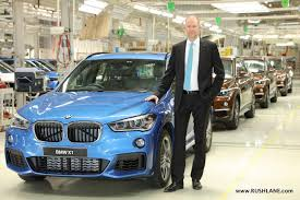 bmw manufacturing plant in india bmw x1 production starts in india unit rolled out