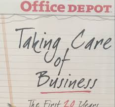 Office Depot Office Depot Revives U0027taking Care Of Business U0027 Slogan In New