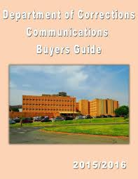 department of corrections communications buyers guide v i by
