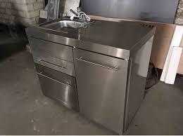 aussenküche edelstahl verkaufe außenküche mit geschirrspülmaschine kühlschrank und